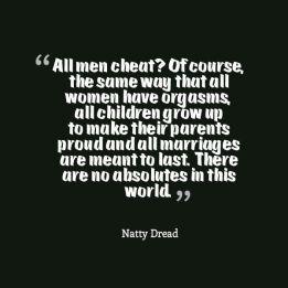 All men cheat