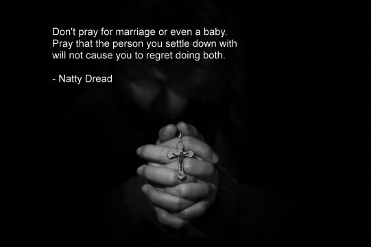 What You Should Pray For